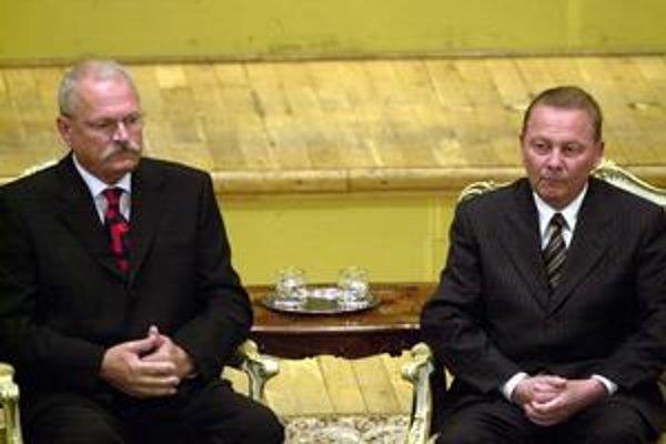Ivan Gašparovič a Rudolf Schuster sa na oslave vo vládnom hoteli Bôrik nestretli.