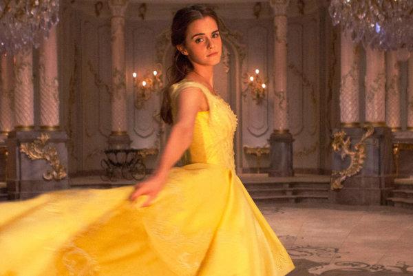 Emma Watson vo filme Kráska a netvor.