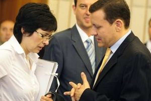 K najväčším kritikom pomerov v súdnictve patril okrem Žitňanskej aj exminister spravodlivosti a súčasný minister vnútra Lipšic.
