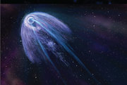 Ilustrácia pulzaru.