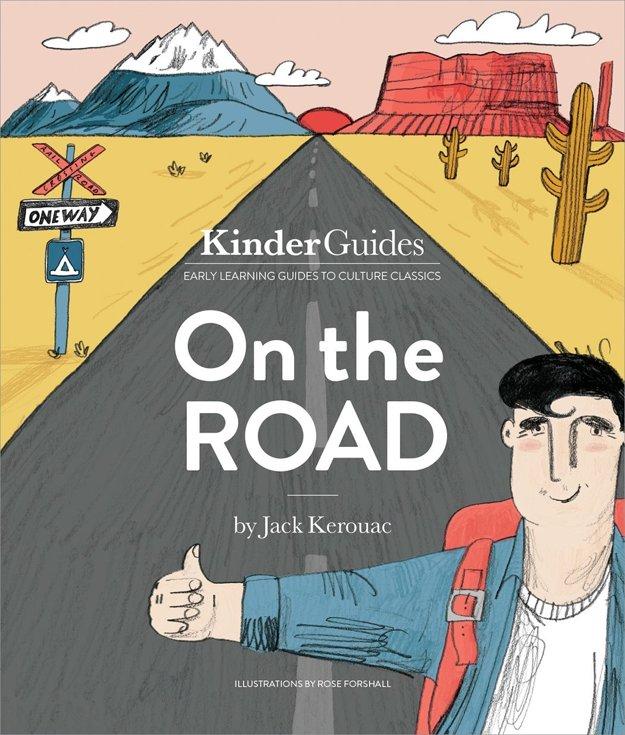 Obal ilustrovanej verzie Na ceste určenej pre deti.