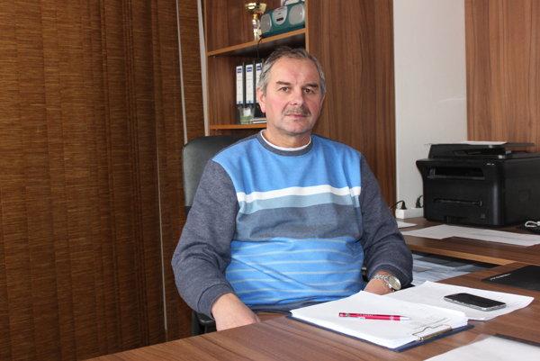 Manažér Pohronia Stanislav Neuschl.