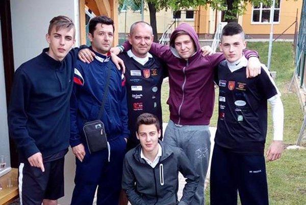 Časť tímu NK Vinodol.