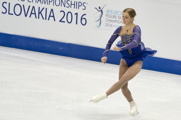 Na ME 2016 v Bratislave obsadila Rajičová 12. miesto.