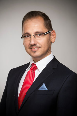 Viktor Béreš, splnomocnenec prípravného výboru strany NAJ.