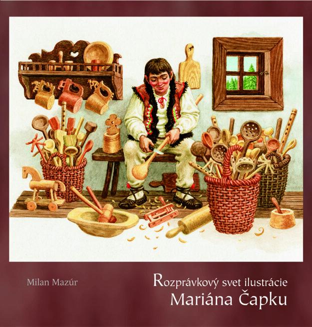 Vedícii vyšlo aj dielo otvorbe ilustrátora atvorcu poštových známok Mariána Čapku.
