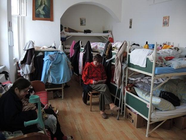 Izba pre ženy.