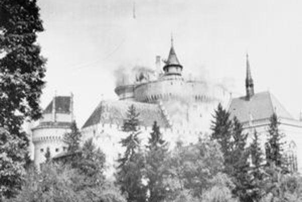 V máji si Hornonitrania pripomenuli aj ničivý požiar Bojnického zámku spred 60 rokov.