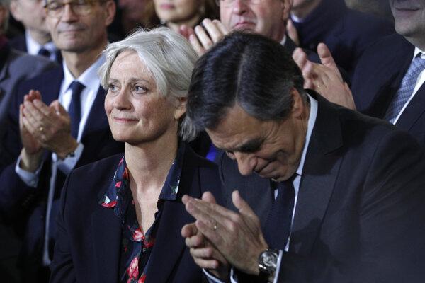 Francois Fillon s manželkou Penelope