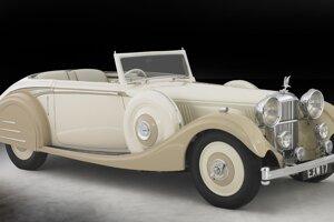 Alvis drophead coupé s karosériou Lancefield 1937