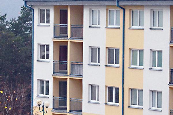 Bytovka je bez obyvateľov už niekoľko rokov.