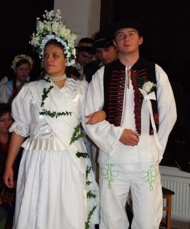 Svadobný pár.