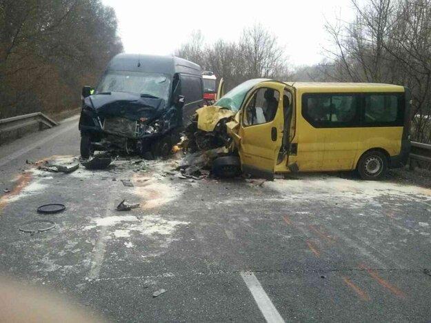 Nehoda sa stala neďaleko Holíča.