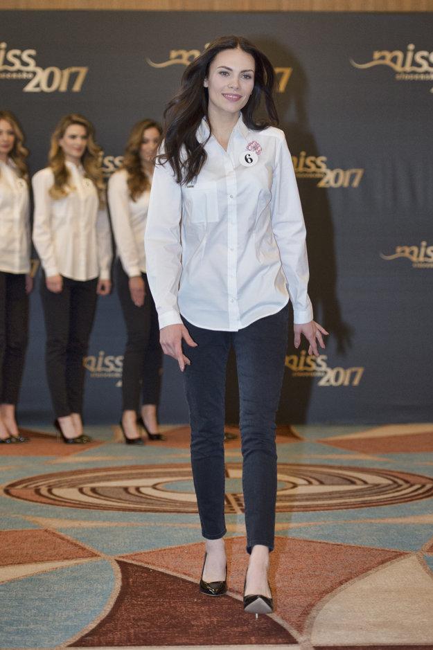Bardejovská kráska bude súťažiť s číslom šesť. Je najmladšia z finalistiek.