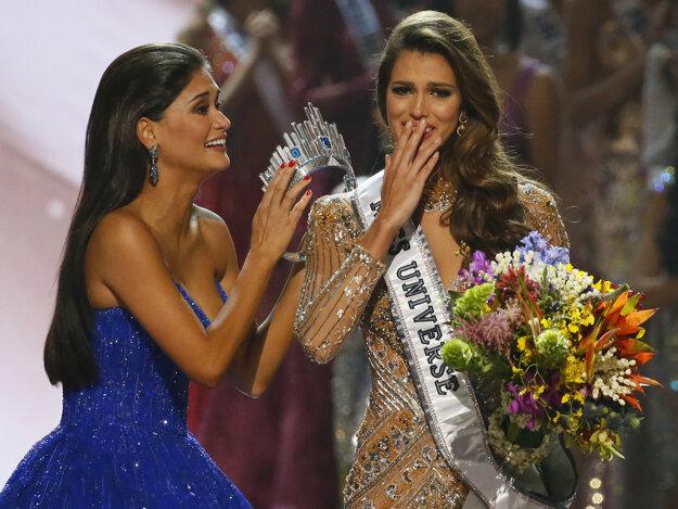 Dojatá víťazka. Iris Mittenaereová neverila, že môže vyhrať.