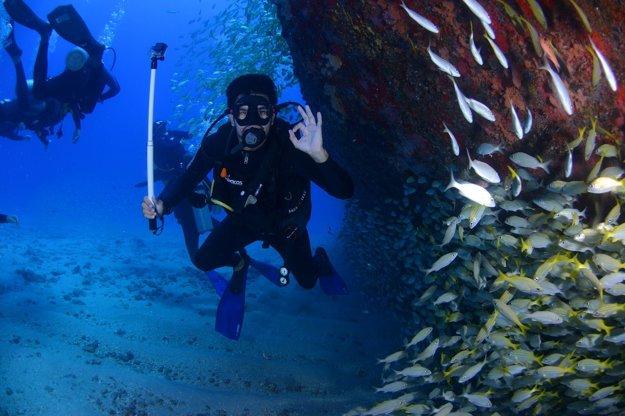 Potápanie.