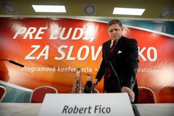 Fico je presvedčený, že Slovensko po štvorročnom vládnutí odovzdávajú so sociálnym trhovým hospodárstvom a sociálnym štandardom.