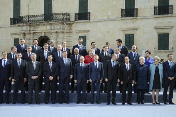 Lídri členských štátov Európskej únie.