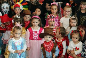 Deti sa predviedli v najrozmanitejších maskách.