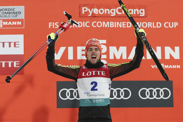 Rydzek zopakoval triumf zo soboty.