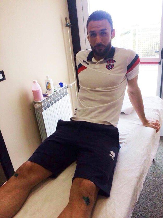 Samir Nurkovič opäť háji farby FC ViOn. Snímka je zo sústredenia v Makarskej.