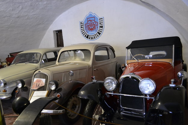 Veterány v kežmarskom múzeu.