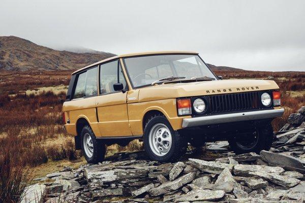 Zrenovovaný Range Rover prvej generácie
