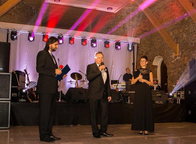 Pri otvorení plesu Prešovskej univerzity.