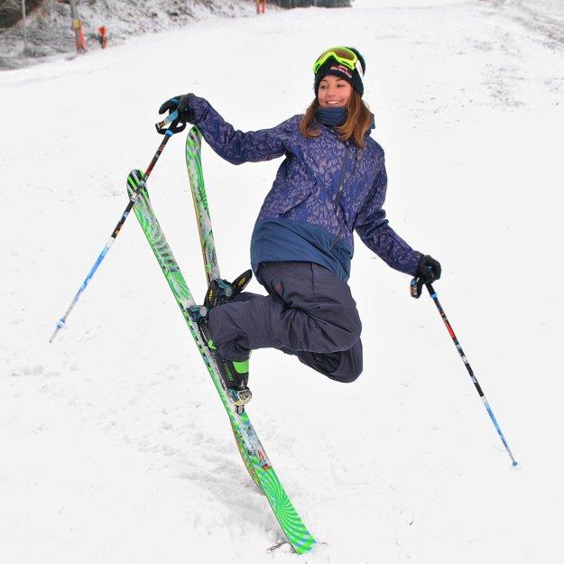 Zuzana Stromková jazdí v disciplíne slopestyle.
