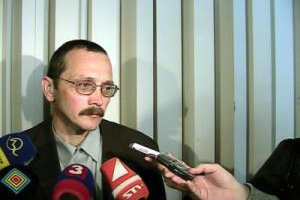 Konkurzný sudca Alexander Mojš.