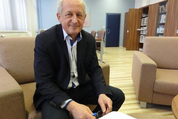 Rektor UKF Ľubomír Zelenický.