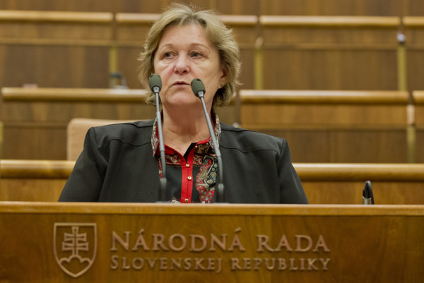 Ombudsmanka Dubovcová v Národnej rade.
