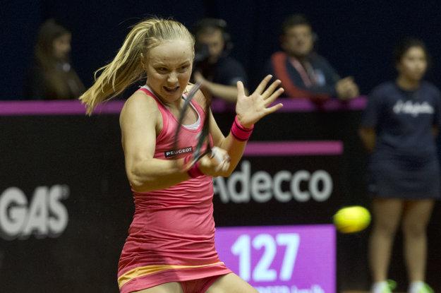 Rebecca Šramková zažila skvelý debut v Pohári federácie.