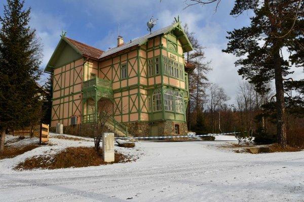 Vila Ilona sa už dočkala opravy.