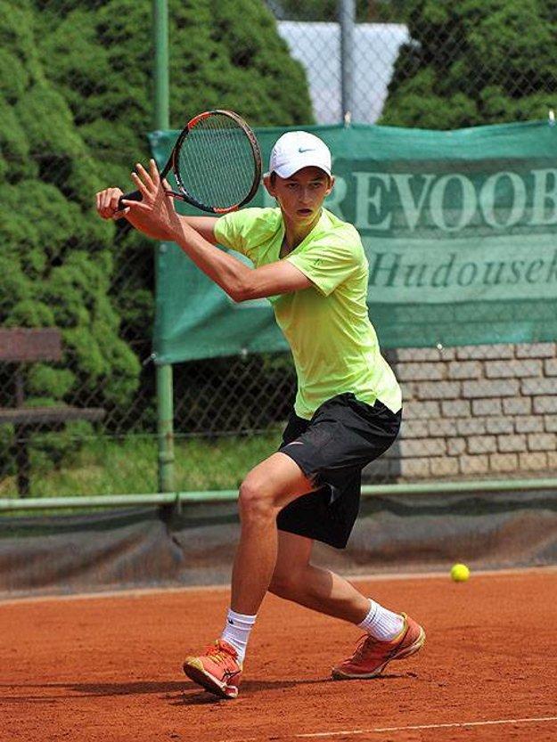 Nikolas Ľahký obdivuje Švajčiara Rogera Federera.