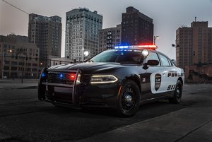 Dodge Charger Pursuit 2017.