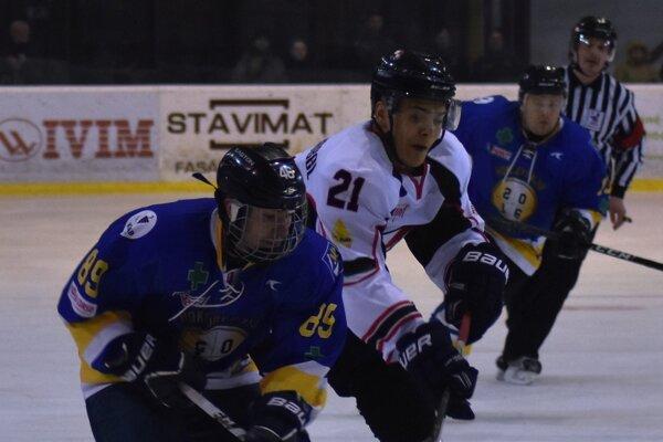 Trebišov ťahal za kratší koniec. S favorizovaným HC Bratislava prehral vsérii 0:2.
