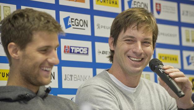 Tréner Martin Hromec vedie Martina Kližana od novembra 2015.