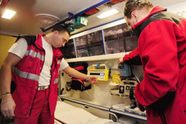 V štyroch lokalitách regiónu budú záchrannú službu poskytovať cudzí prevádzkovatelia.