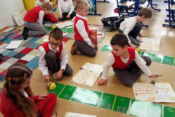 Matematiku učia v Súkromnej spojenej škole v Prievidzi netradične.