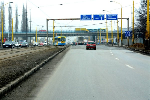 Križovatka VSS.