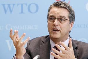 Generálny riaditeľ WTO Roberto Azevedo.