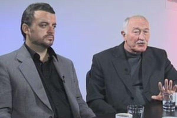 Eduard Chmelár a František Šebej v diskusii o multikulturalizme a islame.