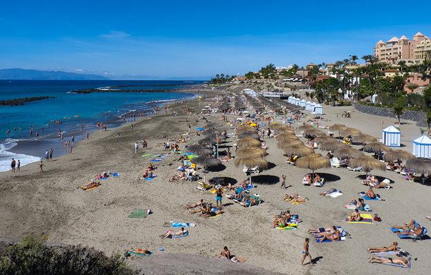 Na juhu Tenerife sa môžno kúpať takmer celý rok.