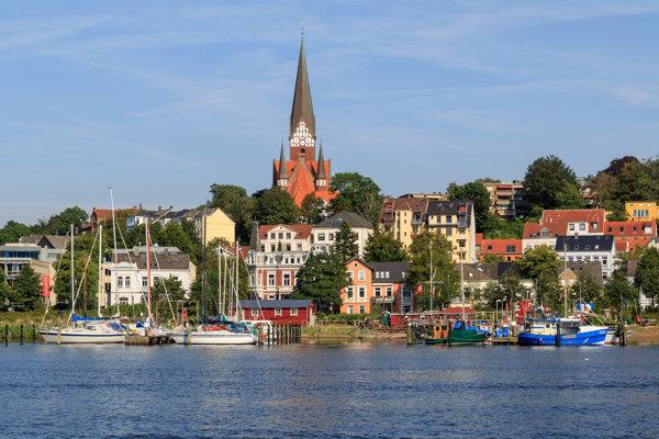 Flennsburg, jedno z najznámejších miest v Šlezvicku-Holštajnsku.
