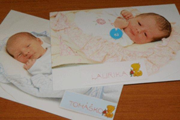 Rodičom novorodencov na hornej Nitre sa vlani najviac páčili mená Laura a Tomáš.