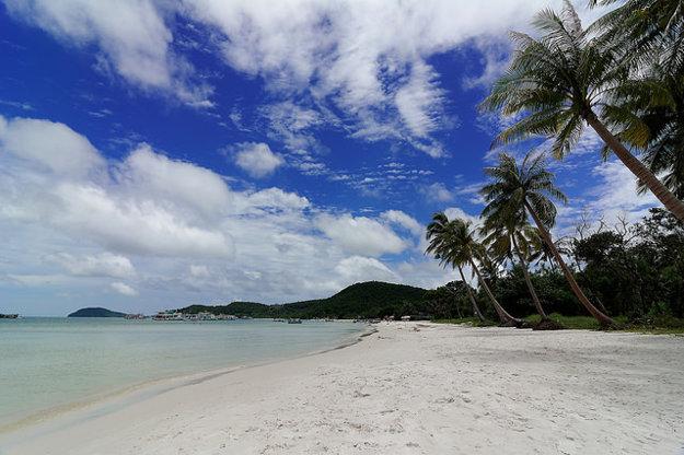 Pláž ostrova Pho Quoc.