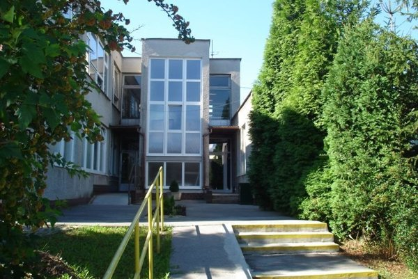 Sídlo Centra sociálnych služieb Domino v Prievidzi.