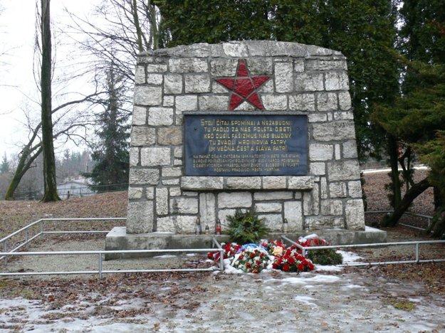 Pamätník na Bukovinách.