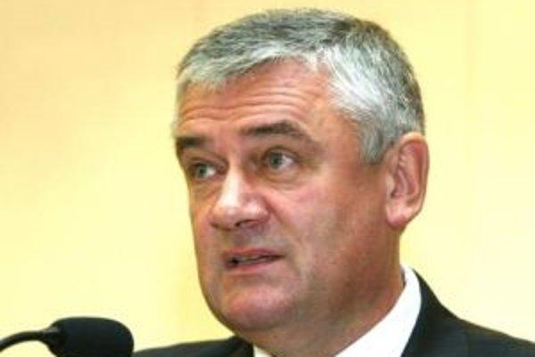 Predseda SNS Ján Slota
